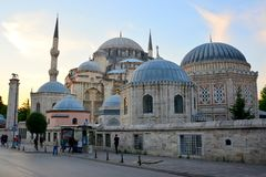 Instanbul,土耳其美丽的清真寺 ?? 库存照片