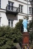 Instandhaltungskapelle der alten Frau in Praga-Bezirk von Warschau, Polen Stockfotos