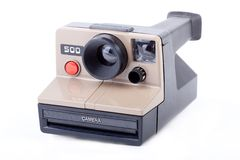 Instant camera Royalty Free Stock Photo