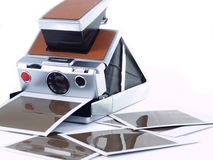 Instant camera Stock Photo