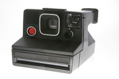 Instant camera. 1980's instant camera Royalty Free Stock Photos