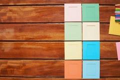 Instant camera colorful frame Stock Photos