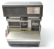 Instant Camera and dusty from the front and open Royalty Free Stock Photography