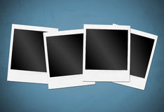 Instant camera frames Stock Photography