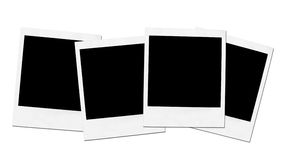 Instant camera frames Stock Photo