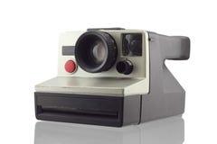 Instant camera isolated on white background Royalty Free Stock Photo