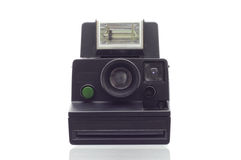 Instant camera isolated on white background Royalty Free Stock Photography