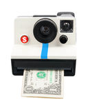 Instant cash camera Stock Photography