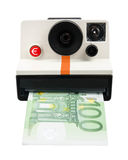 Instant cash camera Royalty Free Stock Image