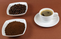 Instant coffee. Royalty Free Stock Image