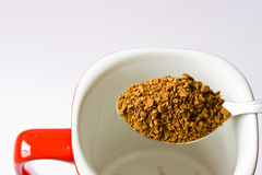 Instant coffee Stock Photography