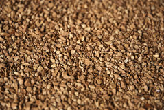 Instant coffee. Instant coffe background - grains of instant coffee Stock Photography