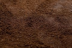 Instant coffee as a texture. Top view Royalty Free Stock Photography