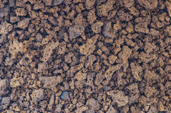 Instant coffee. Background of instant coffee granules - Macro Royalty Free Stock Images