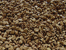 Instant coffee background. Soluble coffee background. Royalty Free Stock Image