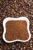Instant coffee Stock Photo