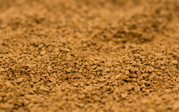 Instant Coffee. Bowl of Instant Coffee granules Stock Photo