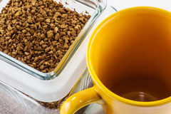 Instant coffee Stock Image