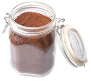 Instant Coffee Drink Powder V Royalty Free Stock Image