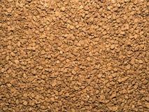 Instant coffee. Freeze-dried instant dark coffee Stock Image