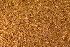 Instant coffee granules Stock Photography