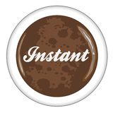 Instant Coffee Mug Icon royalty free stock photo