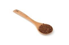 Instant coffee powder Royalty Free Stock Photos