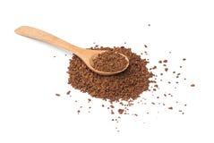 Instant coffee powder Royalty Free Stock Photo