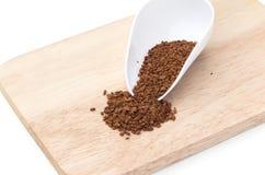Instant coffee powder Stock Image
