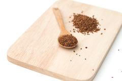 Instant coffee powder Royalty Free Stock Photography