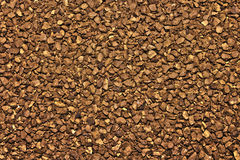 Instant coffee. Toasted scented and flavored instant coffee Royalty Free Stock Photo