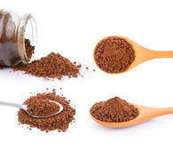 Instant coffee Royalty Free Stock Photography