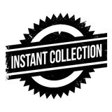 Instant Collection rubber stamp Stock Images