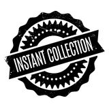 Instant Collection rubber stamp Royalty Free Stock Photo