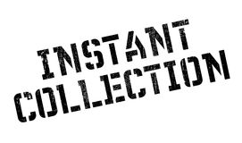 Instant Collection rubber stamp Royalty Free Stock Photography