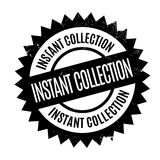 Instant Collection rubber stamp Stock Photo