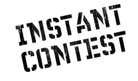 Instant Contest rubber stamp Stock Photos