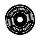 Instant Contest rubber stamp Stock Photography