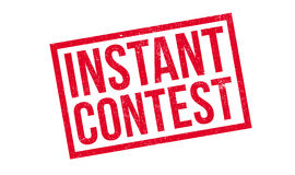 Instant Contest rubber stamp Royalty Free Stock Photo