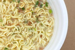 Instant Cup Noodles Royalty Free Stock Photography