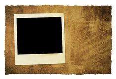 Instant film grungy background Stock Images