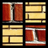 Instant group of bricks. Highlighting different aspects of the thematic Stock Images