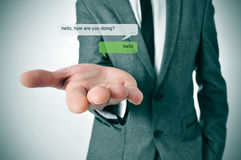 Instant messaging Stock Photo
