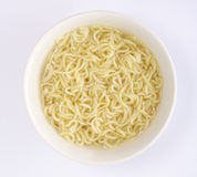 Instant Noodle in Bowl Royalty Free Stock Photo