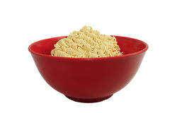 Instant noodle in a bowl Royalty Free Stock Photography