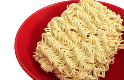 Instant noodle in a bowl Royalty Free Stock Photo