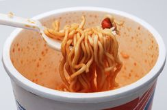 Instant Noodle Cup Royalty Free Stock Photos