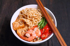 Instant Noodle Stock Photography