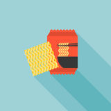 Instant noodle icon Royalty Free Stock Photos