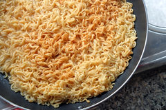 Instant noodle - junk food Stock Images